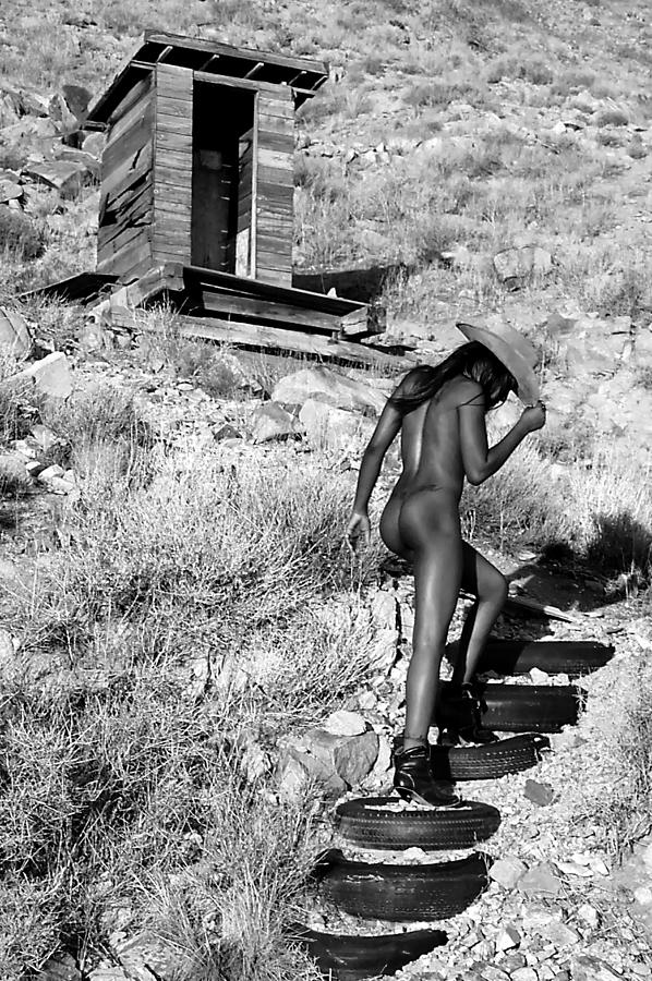 Nude Photograph - Private Stairs by Adam Chilson