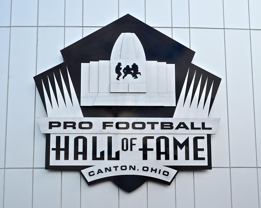 Pro Photograph - Pro Football Hall Of Fame by Frozen in Time Fine Art Photography