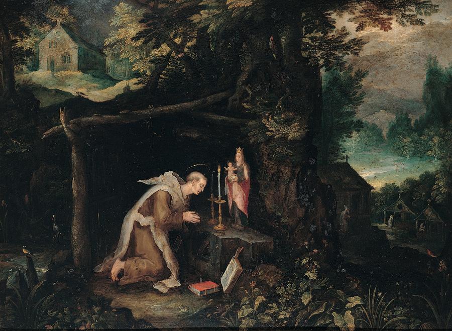 Hermit Photograph - Probably Bruegel Jan Called Bruegel by Everett
