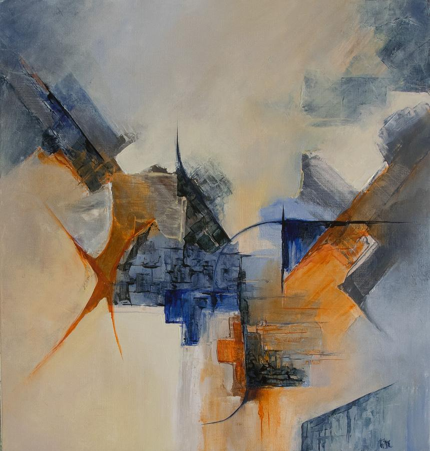 Abstract Painting - Prodrome by Francoise Dugourd-Caput