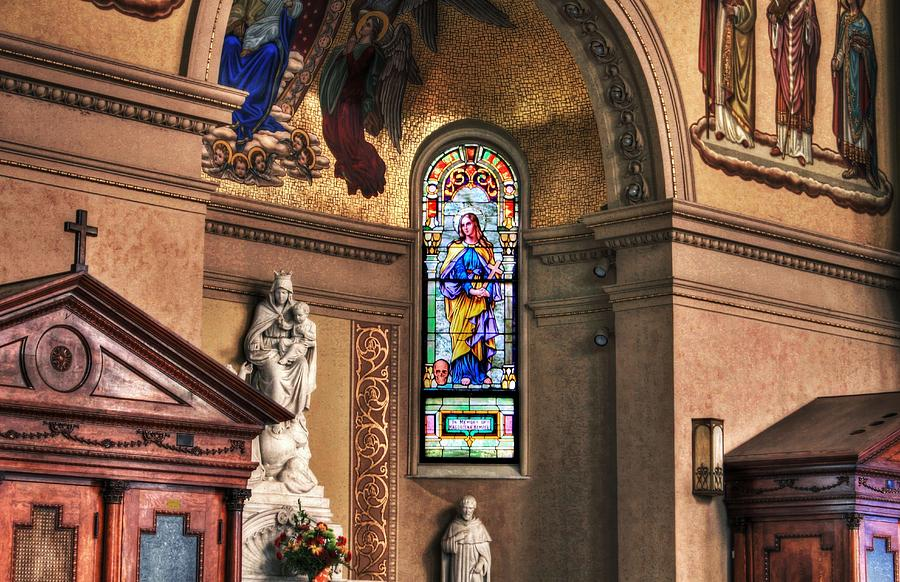 Church Photograph - Projections Of Faith by Gary Yost