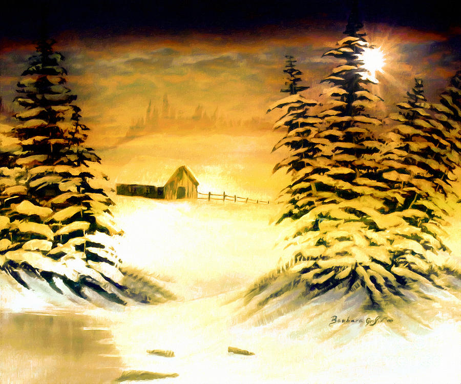 Brighter Day Painting - Promises Of A Brighter Day by Barbara Griffin
