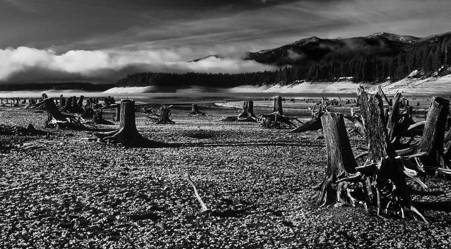 Landscape Photograph - prop busters under Deadwood reservoir Idaho by Mike  Bennett