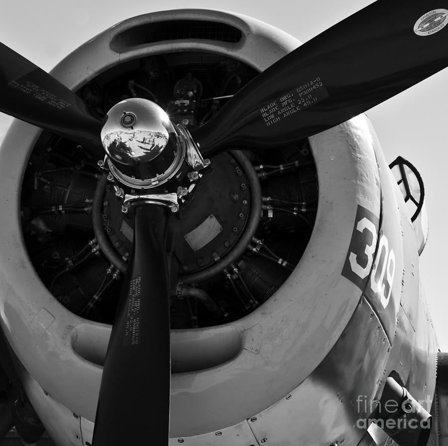 Propeller Photograph - Propeller by Kirt Tisdale