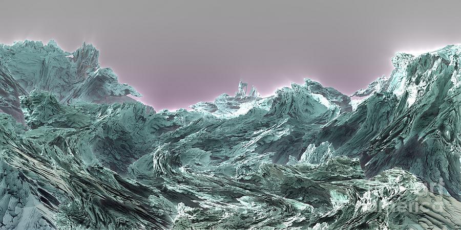 Digital Digital Art - Prophet by Bernard MICHEL