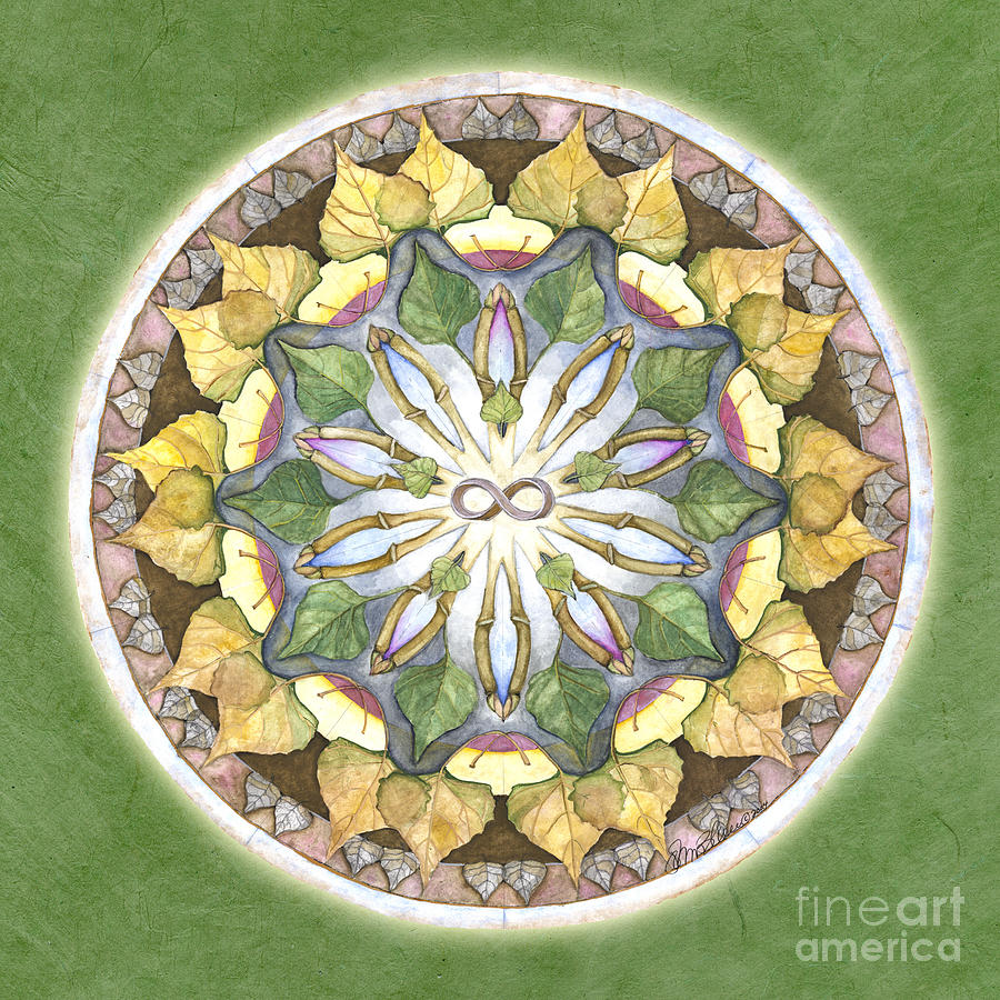 Prosperity Mandala by Jo Thomas Blaine