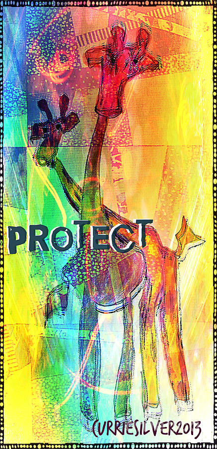 Protect Digital Art by Currie Silver