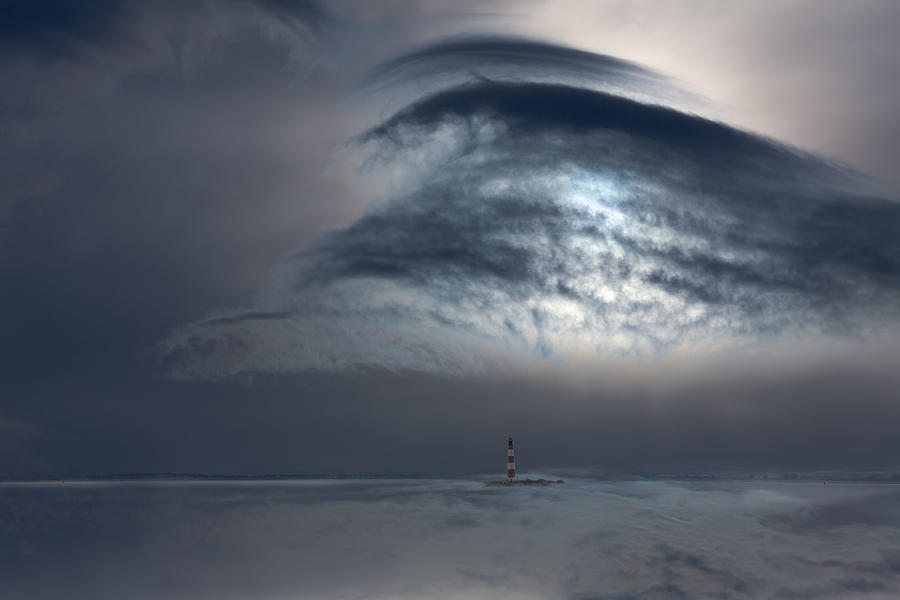Cloud Photograph - Protected by Uschi Hermann