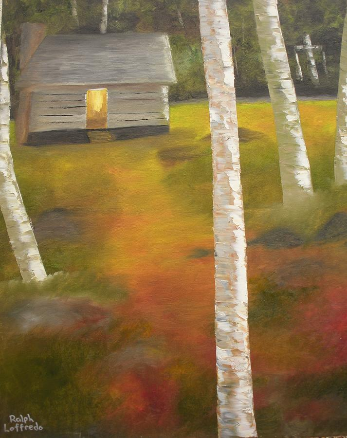 Religious Paintings Painting - Protecting The Homestead by Ralph Loffredo