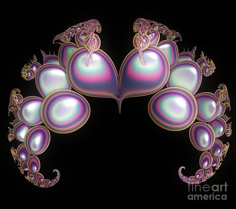 Heart Digital Art - Protective Heart by Sara  Raber