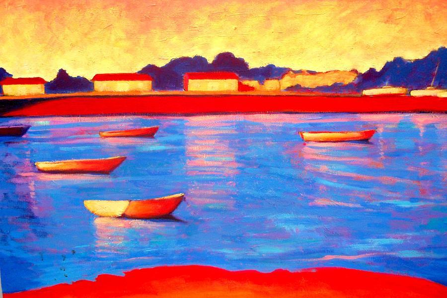 Seascape Painting - Provincetown Pier by Craig  Bruce