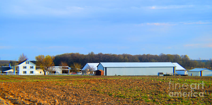 Landscape Photograph - Preparing For The Sowing Season by Tina M Wenger