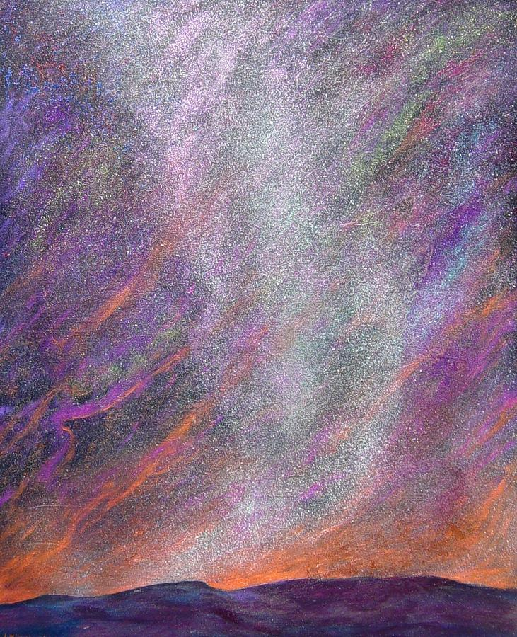 Sky Painting - Psalm 8 1 by J Michael Orr