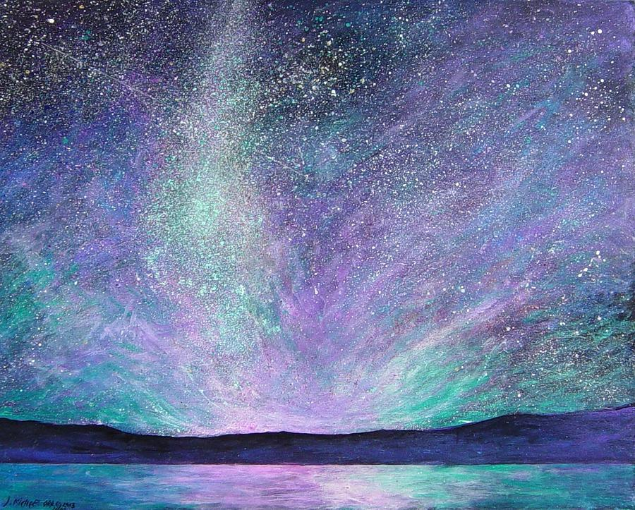 Sky Painting - Psalm 8 3 No. 1 by J Michael Orr