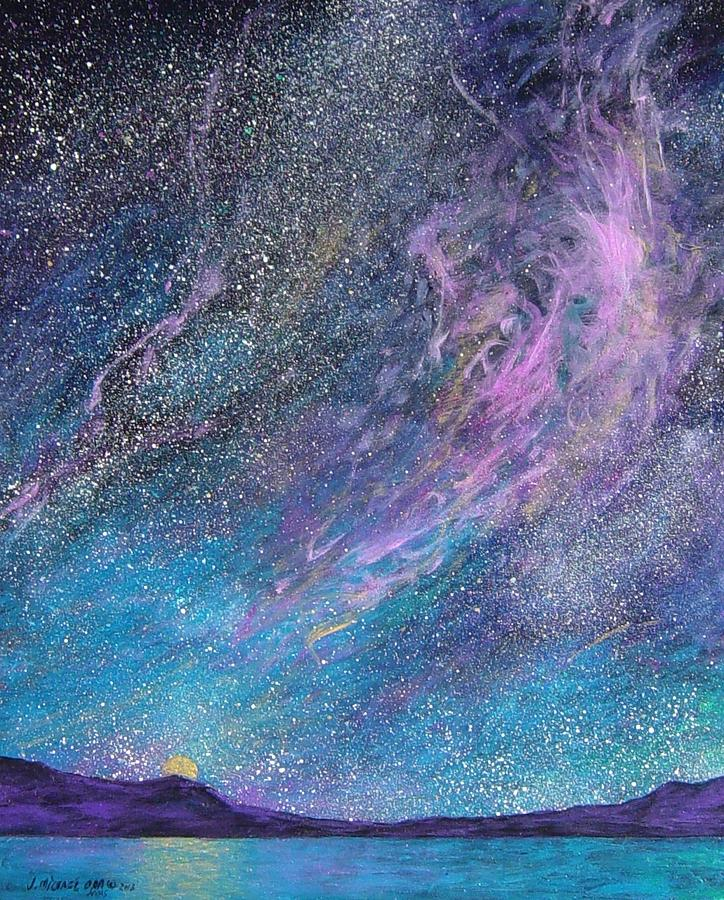 Sky Painting - Psalm 8 3 No. 2 by J Michael Orr