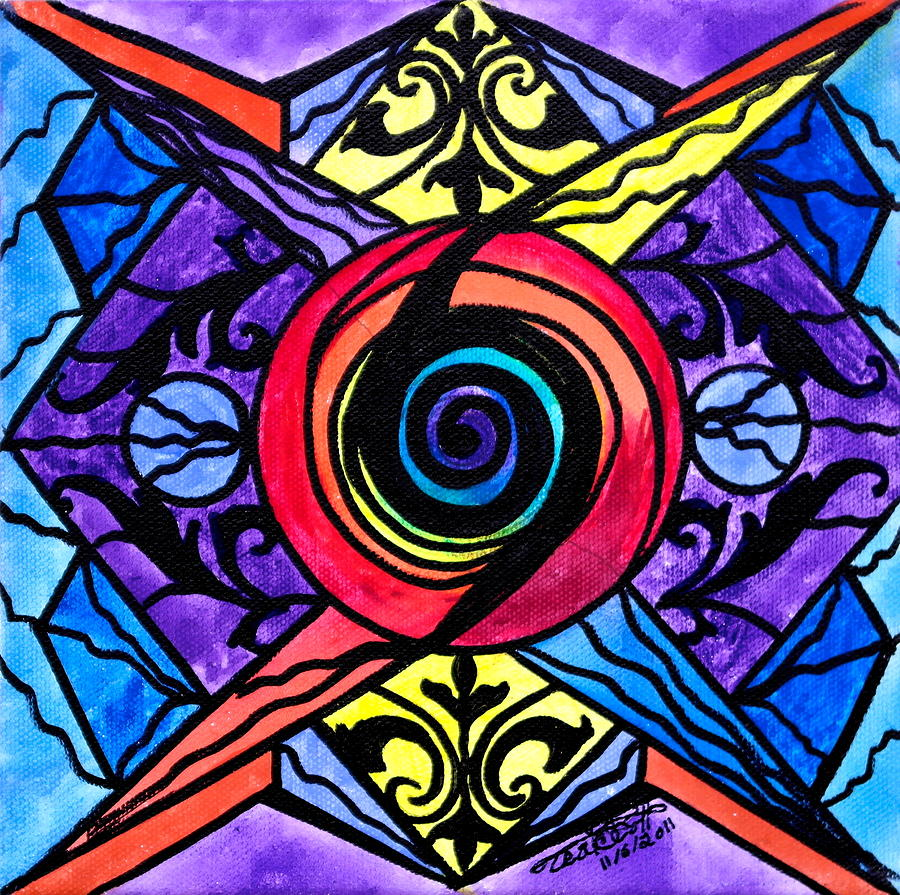 Vibration Painting - Psychic by Teal Eye  Print Store