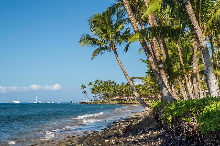 Puamana Photograph - Puamana Maui by Pierre Leclerc Photography