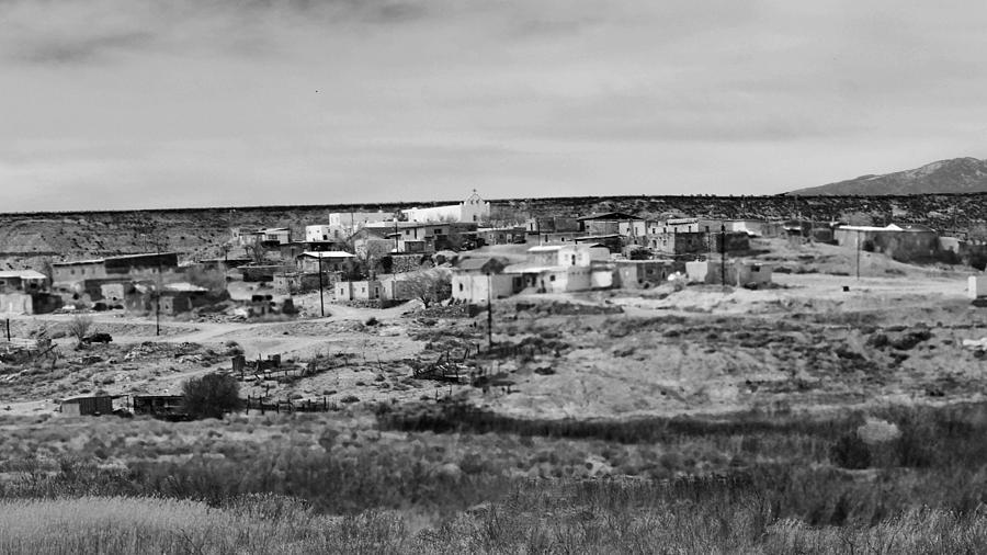 Pueblo Landscape Photograph