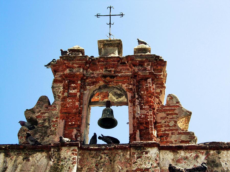 America Photograph - Puerto Rico, Old San Juan, Capilla Del by Miva Stock
