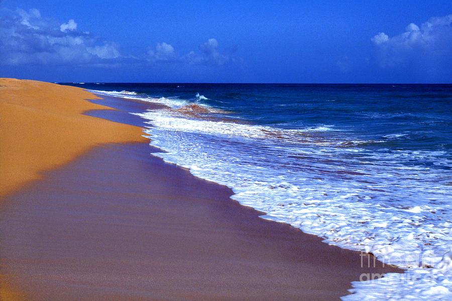 Puerto Rico Photograph - Puerto Rico Seascape by Thomas R Fletcher