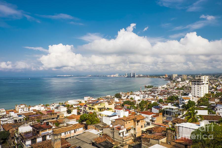 Puerto Vallarta Photograph - Puerto Vallarta Mexico Banderas Bay by Andre Babiak