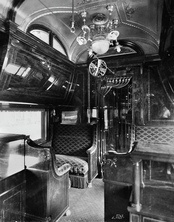 1901 Photograph - Pullman Car El Fleda by Granger