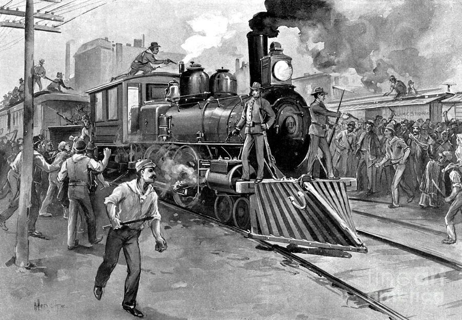 Pullman Strike 1894 Photograph By Photo Researchers