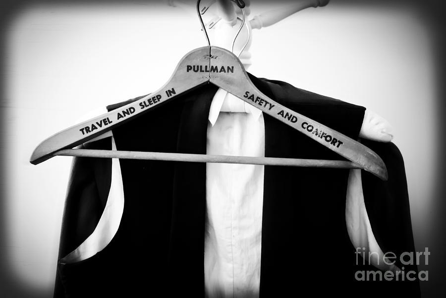 Vintage Photograph - Pullman Tuxedo by Edward Fielding