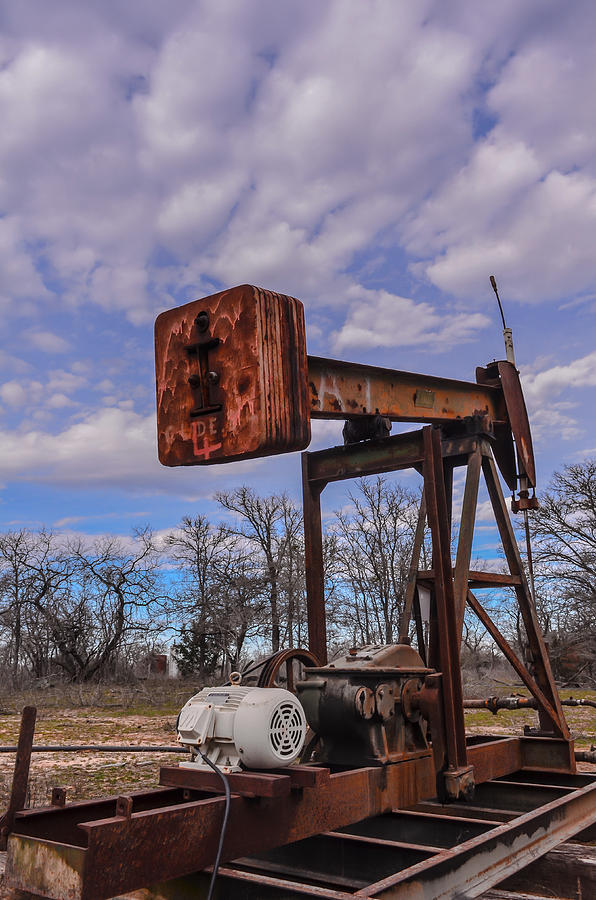 Pump Photograph - Pump Jack by Kelly Kitchens
