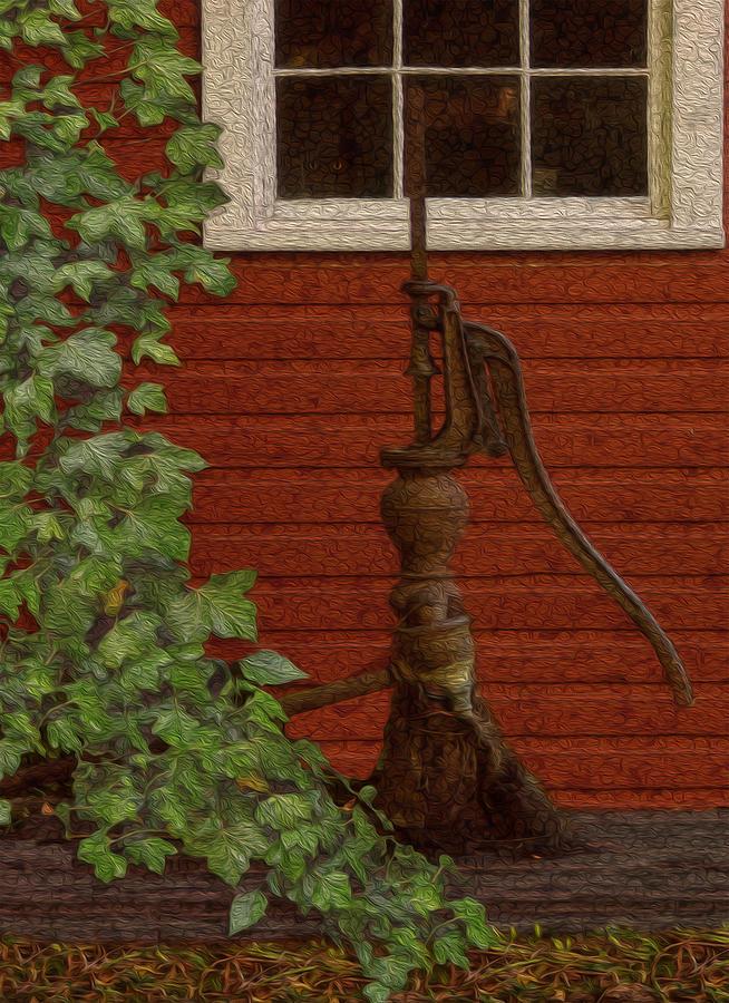 Landscape Painting - Pump by Jack Zulli