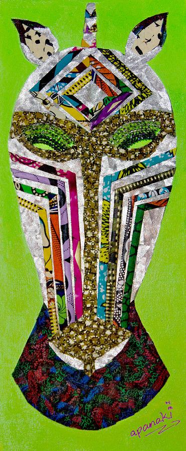 Zebra Tapestry - Textile - Punda Milia by Apanaki Temitayo M