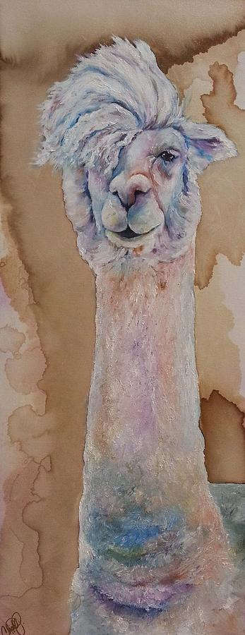 Punk Rock Alpaca by Christy Freeman Stark