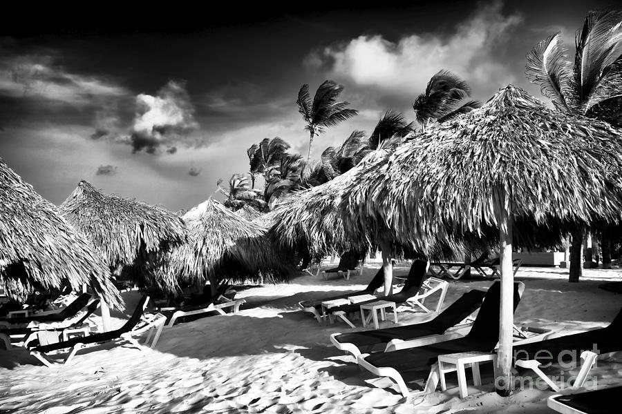 Tiki Photograph - Punta Cana Choices by John Rizzuto