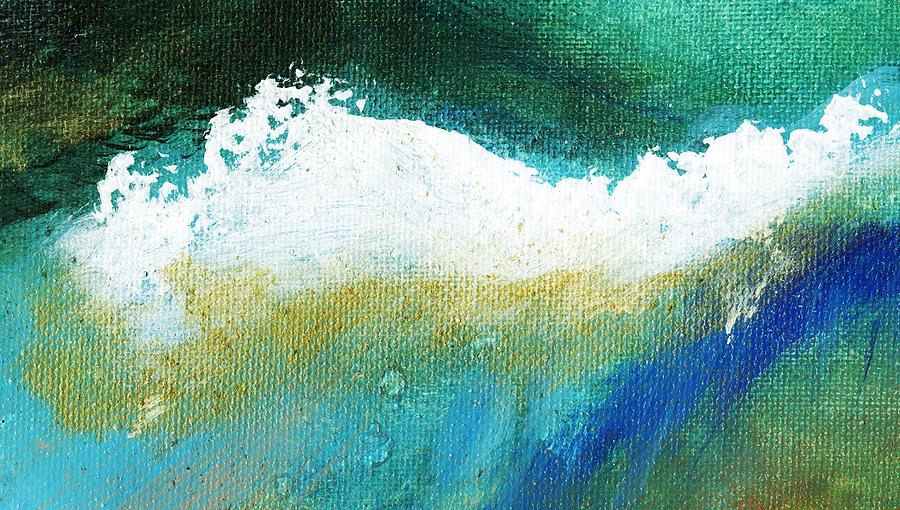 Abstract Painting - Pura Natural by L J Smith