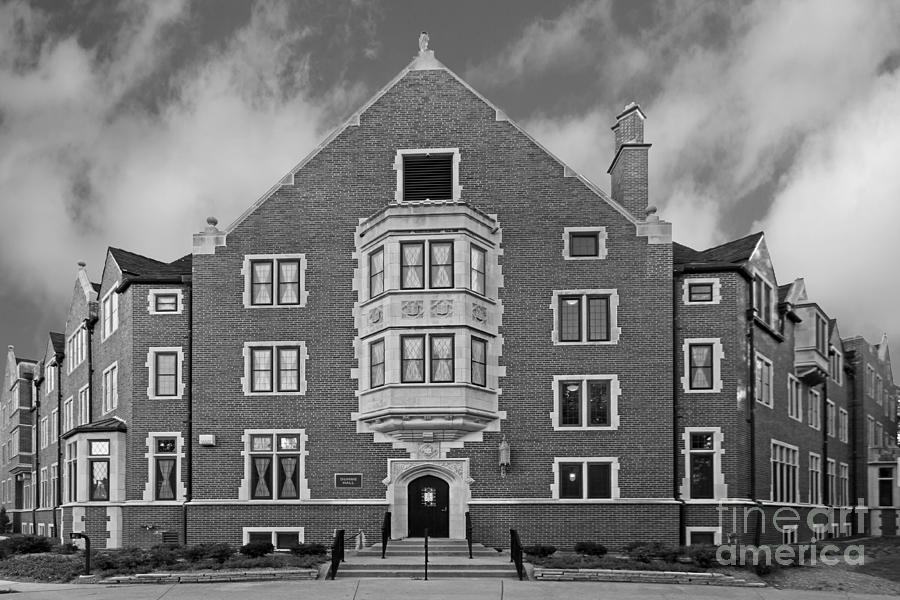 Big 10 Photograph - Purdue University Duhme Residence Hall by University Icons