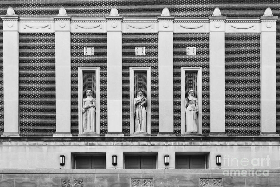 Indiana Photograph - Purdue University Elliott Hall by University Icons