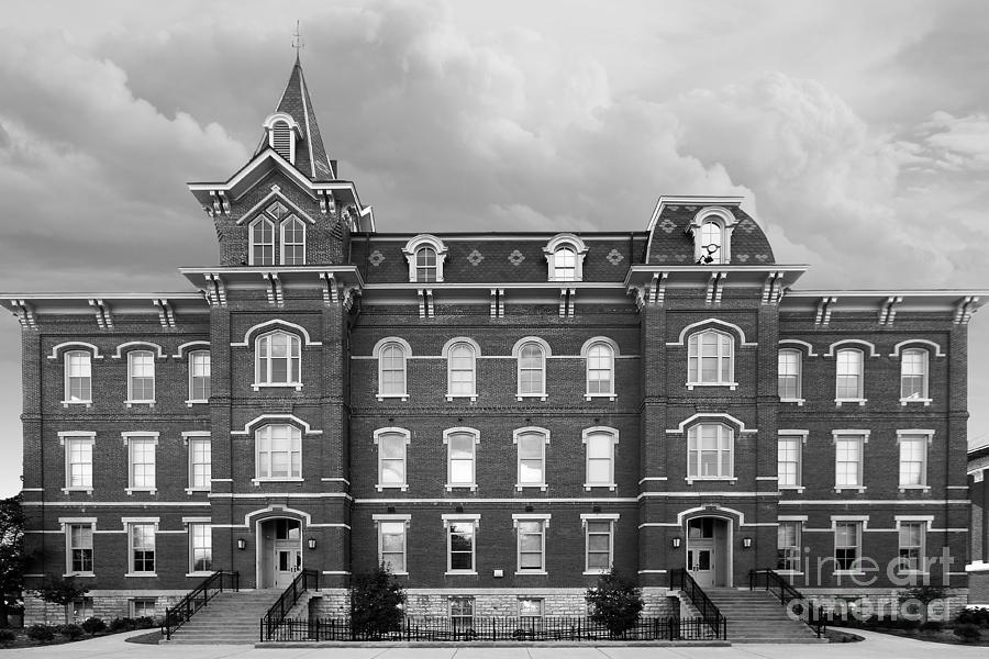 Big 10 Photograph - Purdue University Hall by University Icons