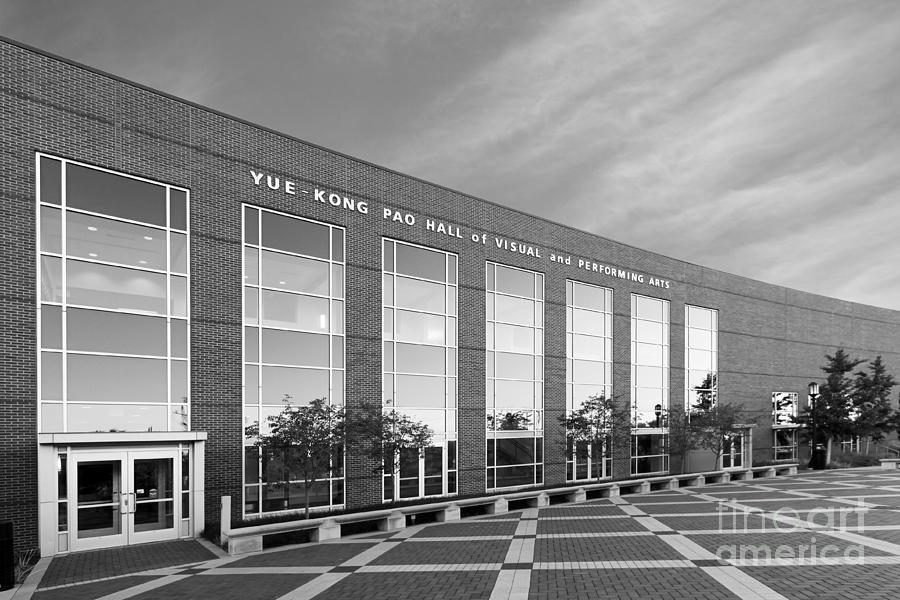 Indiana Photograph - Purdue University Pao Hall  by University Icons