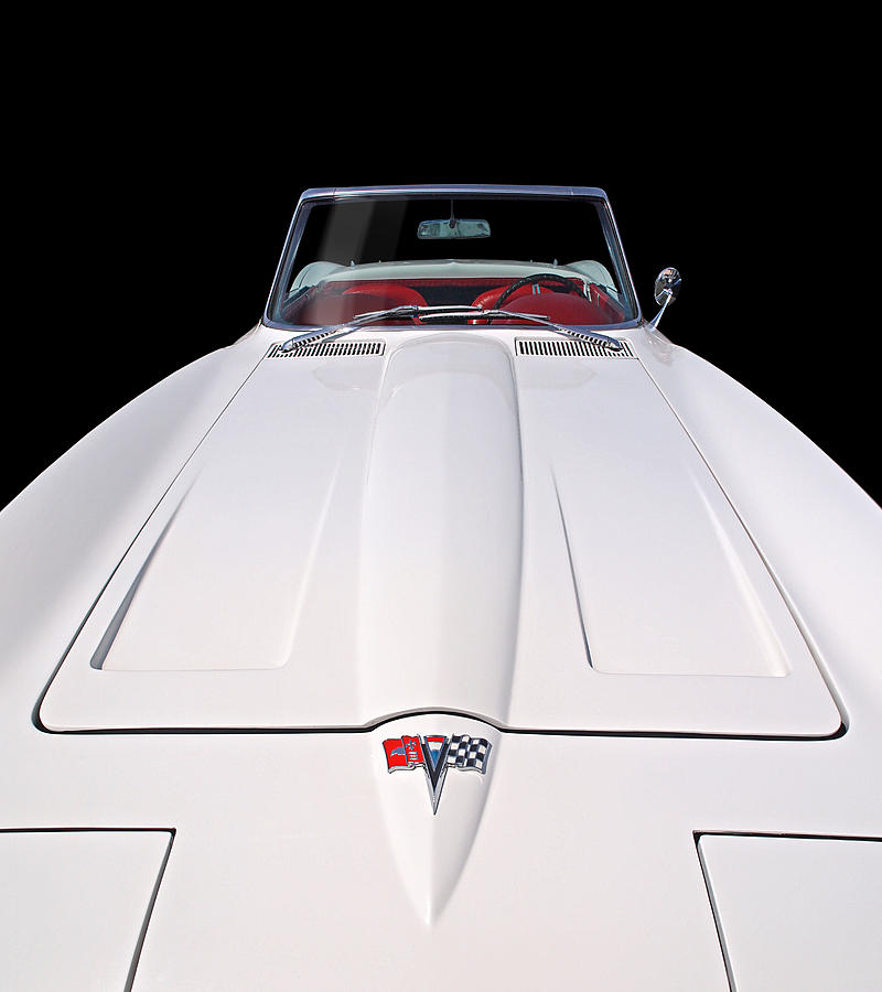 Pure Enjoyment - 1964 Corvette Stingray by Gill Billington