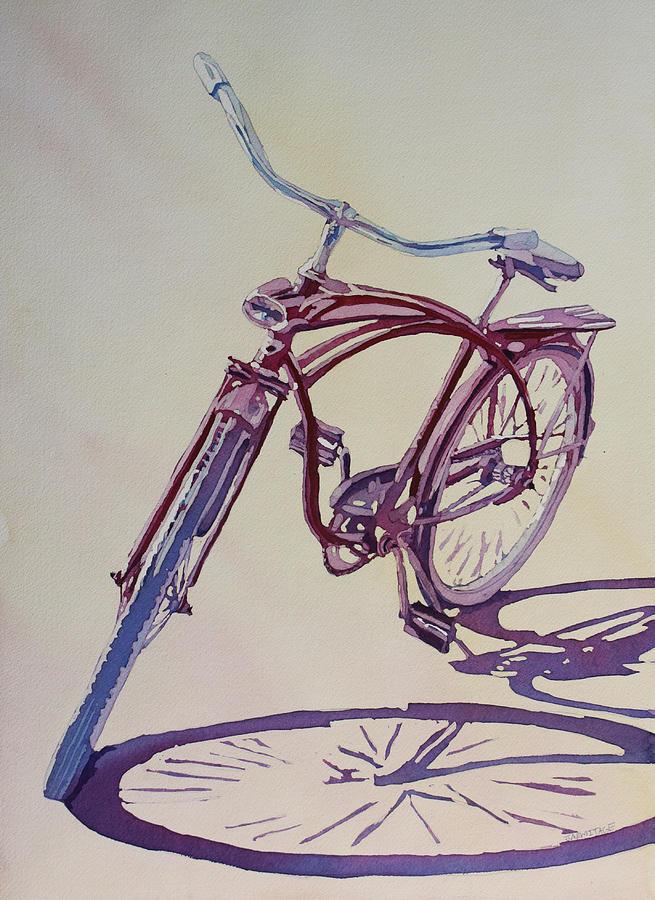 Roadmaster Painting - Pure Nostalgia  by Jenny Armitage