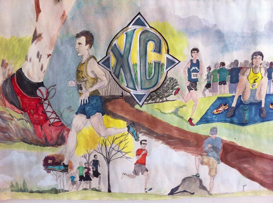 Pure Sport Painting by Jeremiah Iannacci