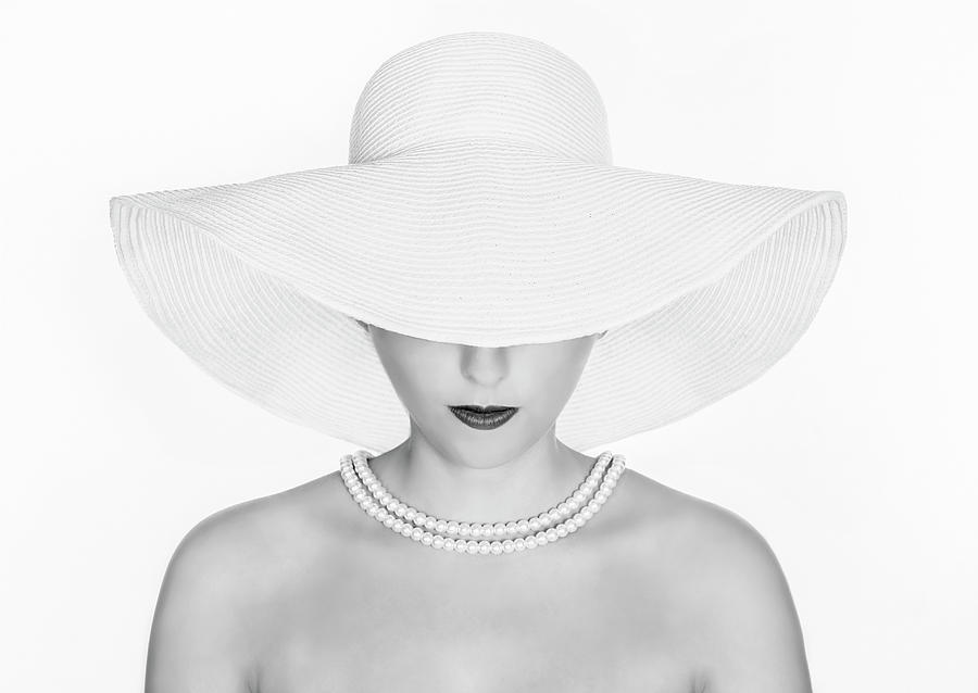 Model Photograph - Pure White by Pauline Pentony Ba