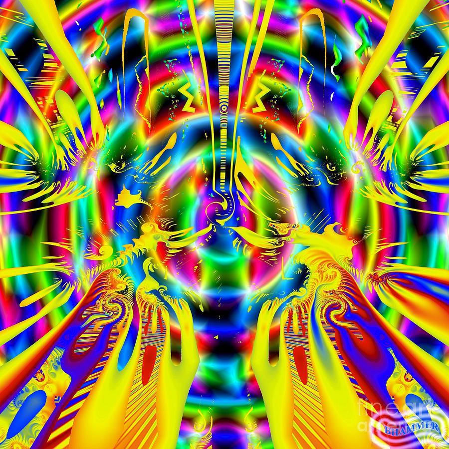 Fractal Digital Art - Purely Recreational by Bobby Hammerstone