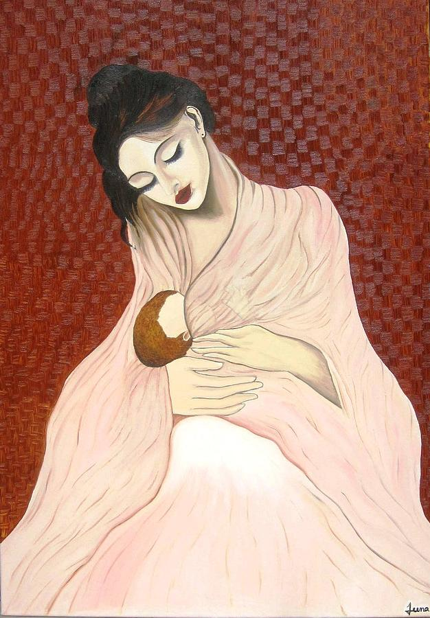 Purest Form Of Love Painting by Rejeena Niaz