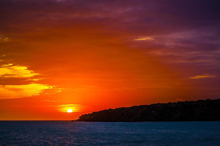 Sunset Photograph - Purple And Orange Sunset by Jess Kraft