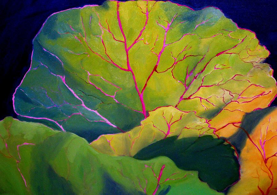 Purple Cabbage at Sunrise by Maria Hunt