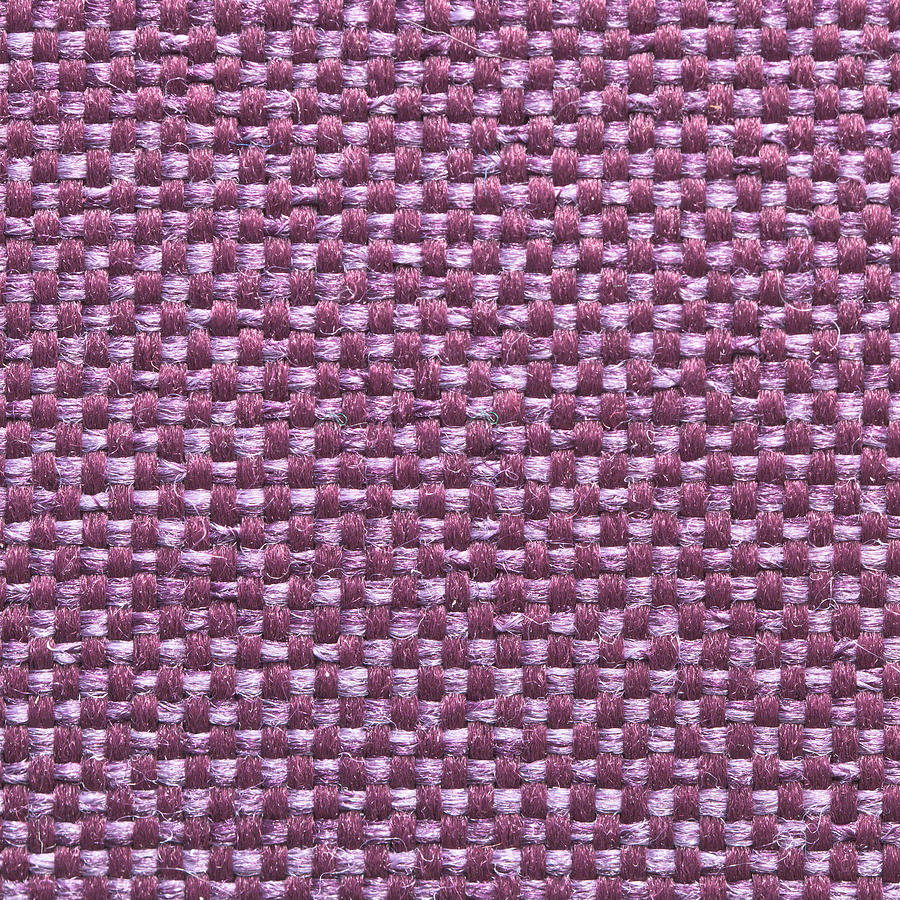 Abstract Photograph - Purple Fabric by Tom Gowanlock