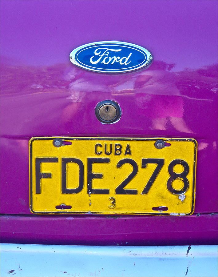 Purple Ford by Kim Pippinger