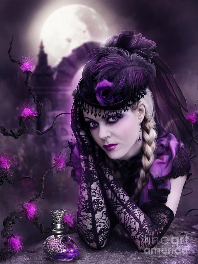 Purple Haze Digital Art by Jessica Allain