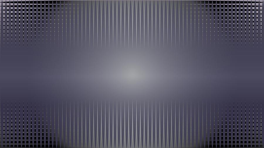 Purple Digital Art - Purple Horizon by Kevin McLaughlin